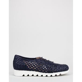 Zapatos Mujer Bailarinas-manoletinas Amanda  Azul