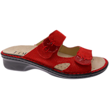 Zapatos Mujer Zuecos (Mules) Loren LOM2772ro rosso