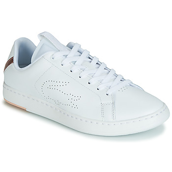6cae0db9f Zapatos Mujer Zapatillas bajas Lacoste CARNABY EVO LIGHT-WT 119 3 Blanco    Rosa