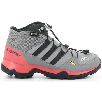 Zapatos Niño Botas adidas Originals TERREX MID GTX K Gris