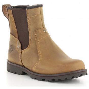 Zapatos Niño Botas de caña baja Timberland ASPHALT TRAIL CHELSEA  C1381R, C1371R, C1391R Marron