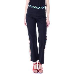 textil Mujer pantalones chinos Desigual 19SWPW20 Nero