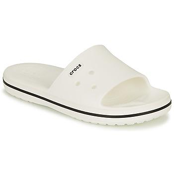 Zapatos Sandalias Crocs CROCBAND III SLIDE Blanco