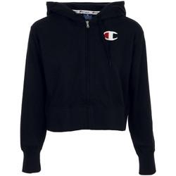 textil Mujer Sudaderas Champion Hooded Full Zip Sweatshirt Negro