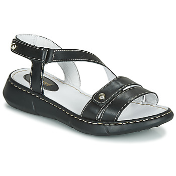 Zapatos Mujer Zuecos (Mules) André ALIX Negro