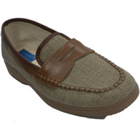 Zapatos Hombre Pantuflas Made In Spain 1940 Zapatilla hombre simulando zapato beige
