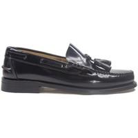 Zapatos Hombre Mocasín La Valenciana Zapatos  3270 Negro Negro