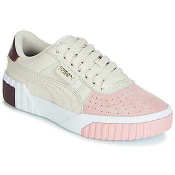 Zapatos Mujer Zapatillas bajas Puma CALI REMIX Blanco / Rosa