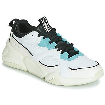 Zapatos Mujer Zapatillas bajas Puma NOVA 2 Blanco