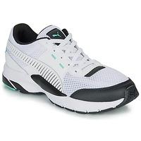 Zapatos Zapatillas bajas Puma FUTURE RUNNER PREMIUM Blanco / Negro
