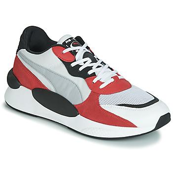 Zapatos Hombre Zapatillas bajas Puma RS-9.8 TN SPACE Blanco / Rojo