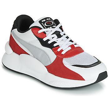 Zapatos Niños Zapatillas bajas Puma RS-98 SPACE JUNIOR Blanco / Rojo