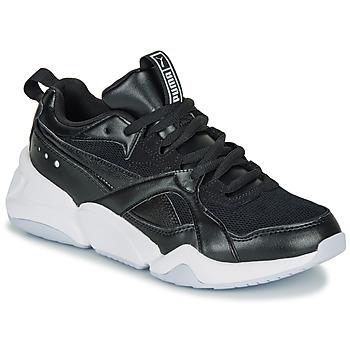 Zapatos Mujer Zapatillas bajas Puma NOVA 2. W Negro