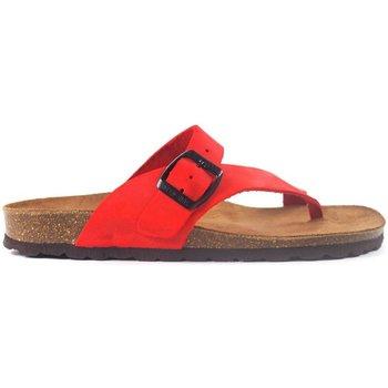 Zapatos Sandalias Interbios Sandalias  7119 Rojo rouge