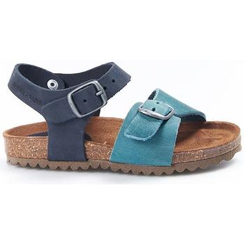 Zapatos Niños Sandalias Interbios Sandalias  Niño 7148 Jeans-Marino Azul
