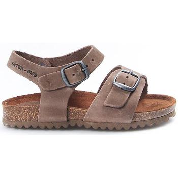 Zapatos Niños Sandalias Interbios Sandalias  Niño 7148 Pardo Marrón