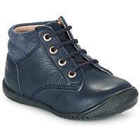 Zapatos Niño Botas de caña baja Citrouille et Compagnie RATON.C Vtc / Marino / Dtx / Raiza