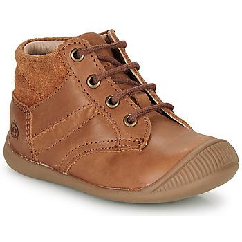 Zapatos Niño Botas de caña baja Citrouille et Compagnie RATON.C Vtc / Marrón / Dtx / Raiza