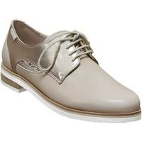 Zapatos Mujer Derbie Mephisto Rubia Cuero beige/platino