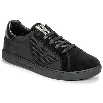 Zapatos Hombre Zapatillas bajas Emporio Armani X4X279-XM035-A085 Negro