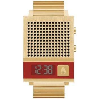 Relojes Relojes digitales Nixon Reloj  Dork Too All Gold Dorado