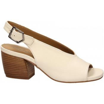 Zapatos Mujer Sandalias Salvador Ribes GRETA HARLEY bianco