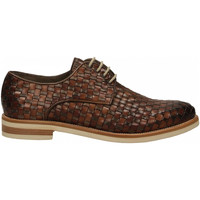 Zapatos Hombre Derbie Brecos VITELLO taupe-brandy