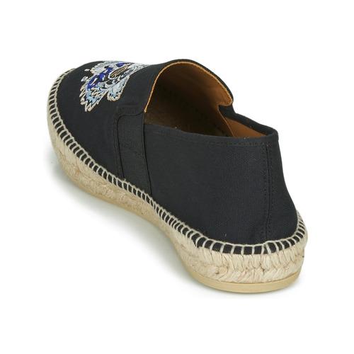 Kenzo ESPADRILLE ELASTIQUE TIGER HEAD Negro - Envío gratis |  ! - Zapatos Alpargatas Hombre
