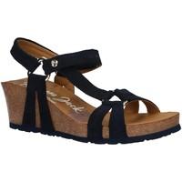 Zapatos Mujer Sandalias Panama Jack VIOLETTA MENORCA B2 VELOUR MARINO Azul