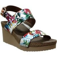Zapatos Mujer Sandalias Mephisto Tenessy Cuero multicolor
