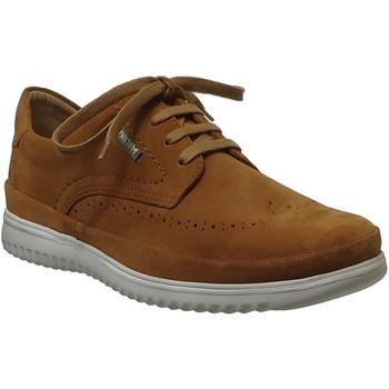 Zapatos Hombre Derbie Mephisto Thibault Terciopelo marrón