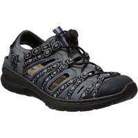 Zapatos Mujer Sandalias Rieker L32p8 Jeans/Negro