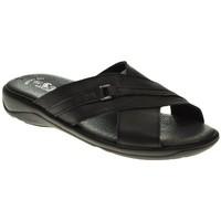 Zapatos Hombre Sandalias Duendy 224 Negro