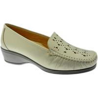 Zapatos Mujer Mocasín Calzaturificio Loren LOK4002be rosso