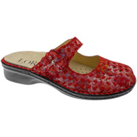 Zapatos Mujer Zuecos (Mules) Loren LOM2709ro rosso