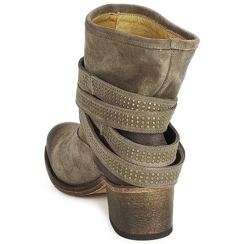 Zapatos Topotea Mujer Few Botines Atelier Daim Voisin XZPuik