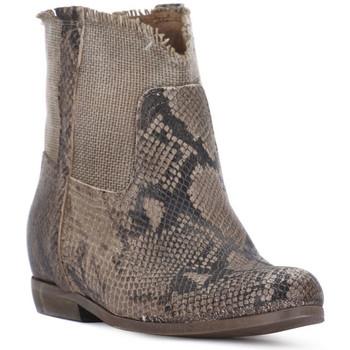 Zapatos Mujer Botas urbanas Priv Lab PITONE ROCCIA Bianco