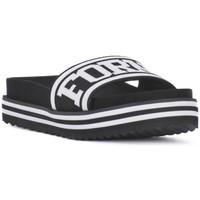 Zapatos Mujer Chanclas Fornarina BEACH 2 BLACK Nero
