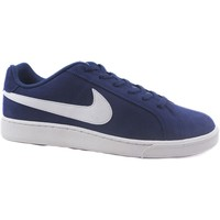 Zapatos Hombre Fitness / Training Nike Zapatillas  Court Royale Suede 819802-410 Azul