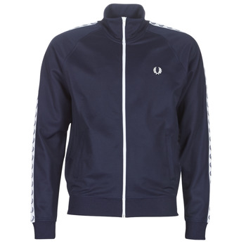 textil Hombre cazadoras Fred Perry TAPED TRACK JACKET Marino