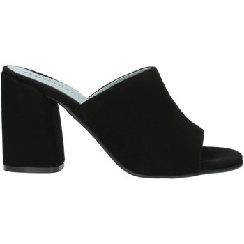 Zapatos Mujer Zuecos (Mules) Albachiara NC82 negro