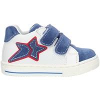 Zapatos Niña Zapatillas altas Balocchi 493265 Azul y blanco