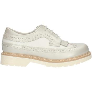 Zapatos Niña Derbie Nero Giardini P732080F Blanco perla