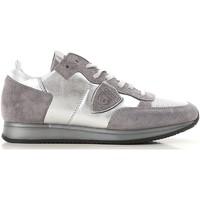 Zapatos Mujer Zapatillas bajas Philippe Model TRLD ME02 argento