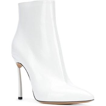 Zapatos Mujer Botas de caña baja Casadei 1Q618L100TRAIN900 bianco
