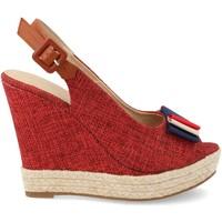 Zapatos Mujer Alpargatas Amy D8536 Rojo