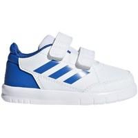 Zapatos Niños Zapatillas bajas adidas Originals Altasport CF I Blanco
