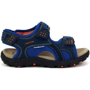 Zapatos Niños Sandalias de deporte Geox JR Strada Azul marino