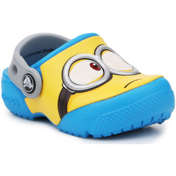 Zapatos Niños Zuecos (Clogs) Crocs Crocsfunlab Minions Clog 204113-456 amarillo, azul