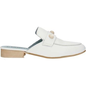 Zapatos Mujer Zuecos (Clogs) Albachiara NC74 blanco